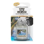 Yankee Candle Ultimate Car Jar Air Freshener, Coconut Bay, (1300944)