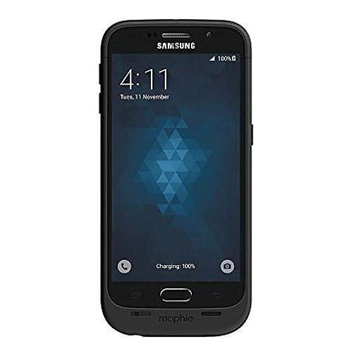 innovative design e1e4d aaa3a mophie Juice Pack Battery Case for Samsung Galaxy S6, Black (45225SPR)