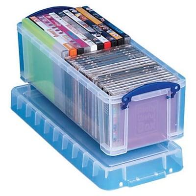 Really Useful 6.5 L Storage Box, Clear (6.5C)