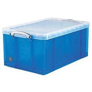 Really Useful Box® 64 Liter, Transparent Blue