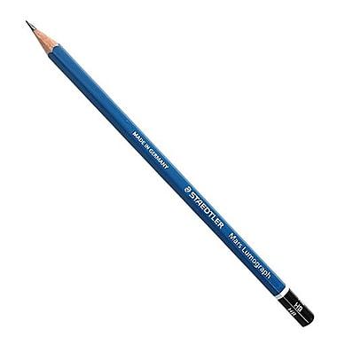 Staedtler Lumograph Graphite Pencil Blue (100HB-BK6)