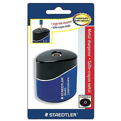 Staedtler Lumograph Pencil Sharpener Blue 2 1/2