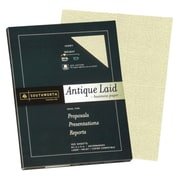 "Southworth® Antique Laid Business Paper, 8 1/2"" x 11"", Ivory, 100/Pack (P464CK/3/36)"