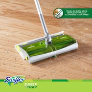 Swiffer® Sweep & Trap™ 87141 Floor Mop Starter Kit, Green