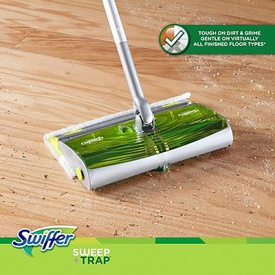 Swiffer® Sweep & Trap™ 87141 Floor Mop Starter Kit, Green