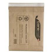 "Caremail® Self-Adhesive Size #2 Padded Mailer, 8 1/2"" x 10 3/4"", Light Brown, 25/Carton (27281-US/CC)"