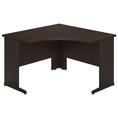 Bush® Business Westfield Elite 48W x 48D C-Leg Corner Desk, Mocha Cherry