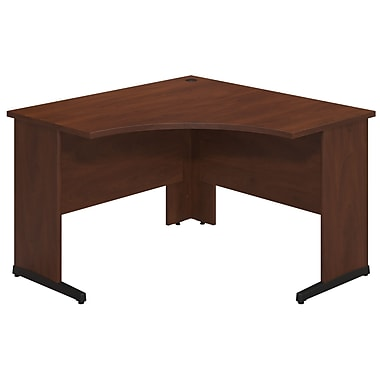 Bush® Business Westfield Elite 48W x 48D C-Leg Corner Desk, Hansen Cherry