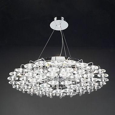 PLC Lighting Diamenete 18-Light Kitchen Island Pendant