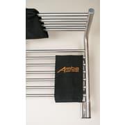 Amba Jeeves Wall Mount Electric M Shelf Straight Towel Warmer; Brushed