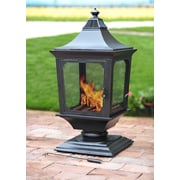 Sunjoy Beacon Steel Wood Burning Pagoda
