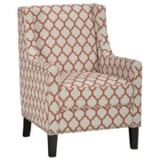 Jofran Jean Arm Chair; Persimmon