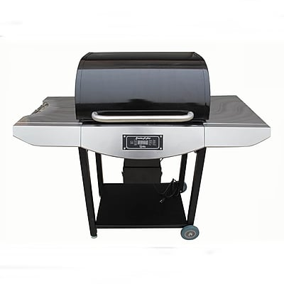 Smoke-N-Hot Grills 52'' Pellet Powered Grill; Brushed Stainless Steel
