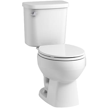 Sterling by Kohler Windham 12'' Rough-in Round Front Toilet Tank; White