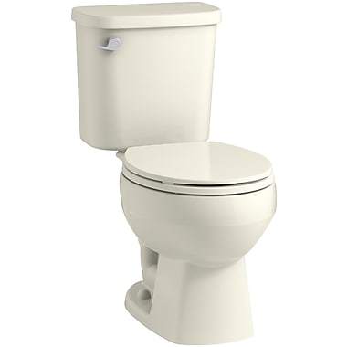 Sterling by Kohler Windham 12'' Rough-in Round Front Toilet Tank; Biscuit