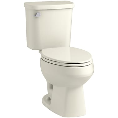 Sterling by Kohler Windham 12'' Rough-in Elongated Toilet Tank; Biscuit