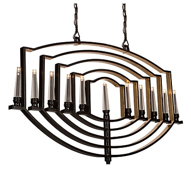 Artcraft Lighting Perceptions 11 Ligh Candle-Style Chandelier; Oil Rubbed Bronze