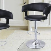 AdecoTrading Adjustable Height Swivel Bar Stool