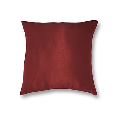 Elrene Home Fashions All Seasons Throw Pillow; Rouge