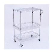 HomCom Portable Wire Kitchen Basket