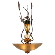 Van Teal Almost Autumn Exceptional 3-Light Shaded Chandelier