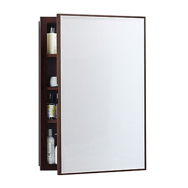 Ronbow Zuri 32.5'' x 22.5'' Recessed or Surface mount Medicine Cabinet