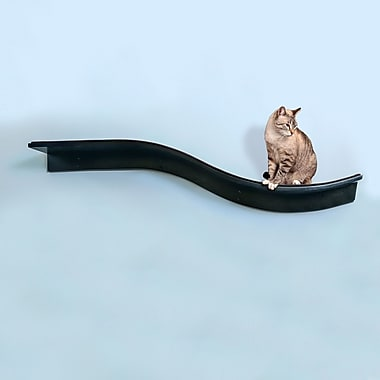 The Refined Feline Lotus Branch Cat Perch; Espresso