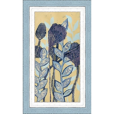 Ashton Wall D cor LLC In Bloom 'Chromatic Floral Mix I' Framed Painting Print