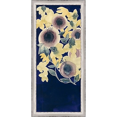 Ashton Wall D cor LLC In Bloom 'Botanical Gale I' Framed Painting Print