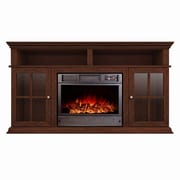 A&J Homes Studio Ares Alessandro 62'' TV Stand w/ Fireplace