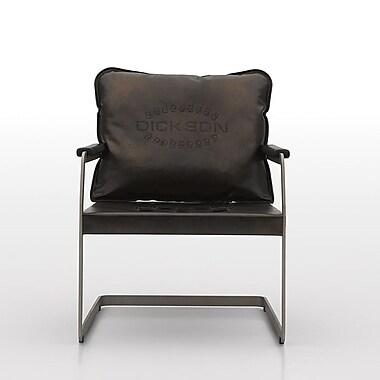 Argo Furniture Dora Mid-Back Leather Desk Chair