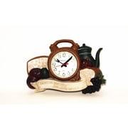 Control Brand 14.8'' x 10''  Daily Bread Wall Clock (1571)