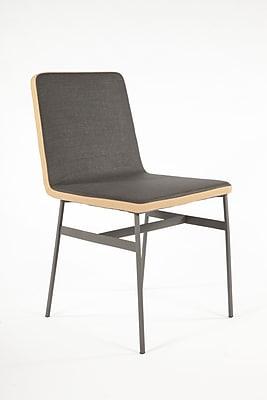 Control Brand Fabric Porter Dining Chair, Grey (FSC002DGREY)