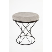 Control Brand 18.11 in. Grey Tyras Stool (FXC436GREY)