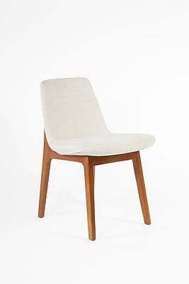Control Brand Twill Fabric Roermond Side Chair, Beige (FXC835BGE)