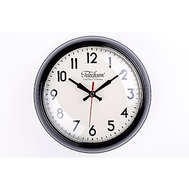 Control Brand 10.25'' Black Cambridge Clock (G131410BLK)