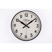 Control Brand 11.5'' Black Corby Clock (G131512BLK)