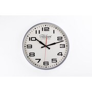 Control Brand 13.75'' Silver Bedford Clock (G131614SILVER)