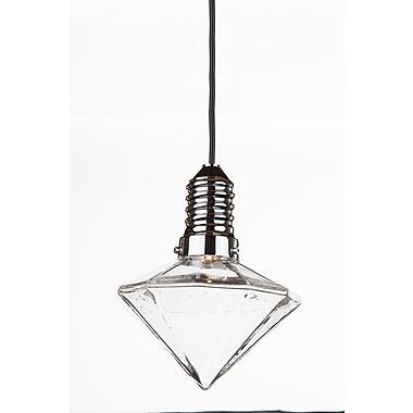 Control Brand LED MalPendant Lamp, Clear (LM371PCLR)
