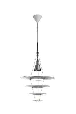 Control Brand Tastrupp Pendant Lamp, White (LN6051WHT)
