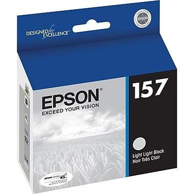 Epson 157 Light Black Ink Cartridge, (T157920)