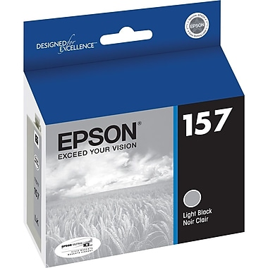Epson 157 Light Black Ink Cartridge, (T157720)
