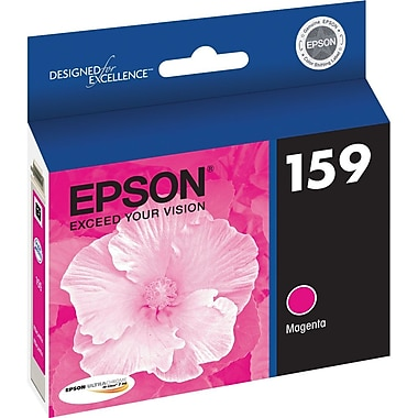 Epson 159 Magenta Cartridge, (T159320)