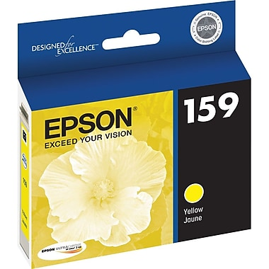 Epson 159 Yellow Ink Cartridge, (T159420)