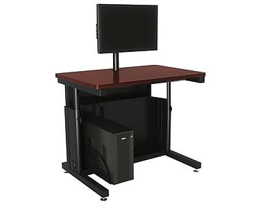 OFM Downview 36'' Rectangular Computer Table, Cherry (SPB10436300102)
