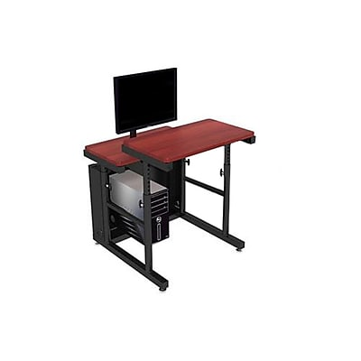 Versa Tables Computer Table Split Level Adjustable 36