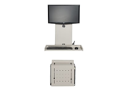 Versa Tables Wall Mount Computer Station Ultra Flat (SP30702)
