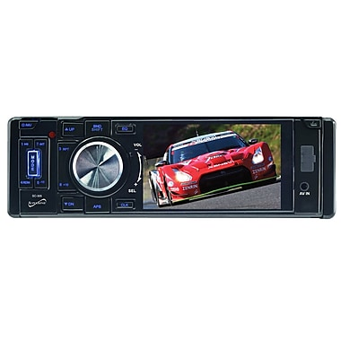 Supersonic® SC-305 Car DVD Player with 3 1/2