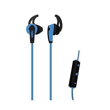 Naxa ne-937-b Sports Earphones with Mic, Blue