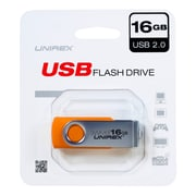 Unirex 16GB USB 2.0 Flash Drive (usfs-216)